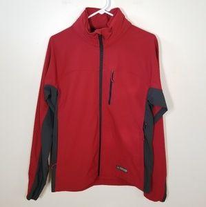 REI | red Baypoint wind & rain jacket